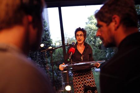 Hortensia Völckers. Foto: Jan Zappner