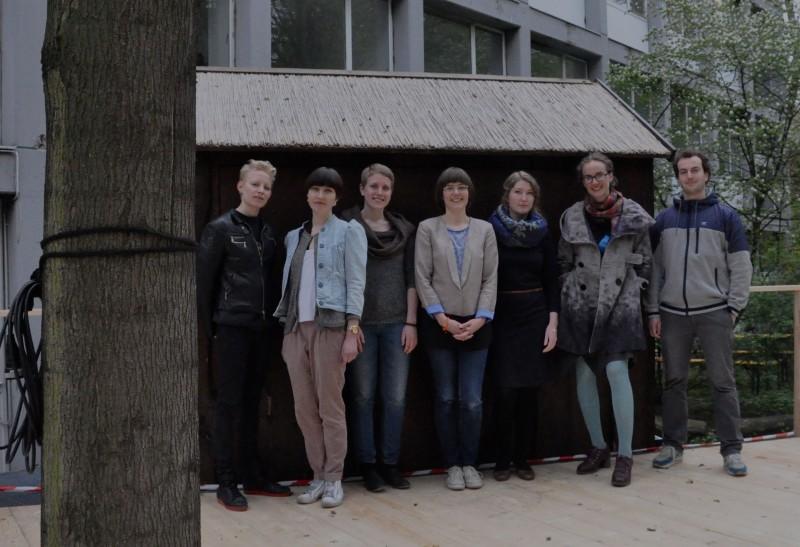 Gruppenfoto Ausschnitt