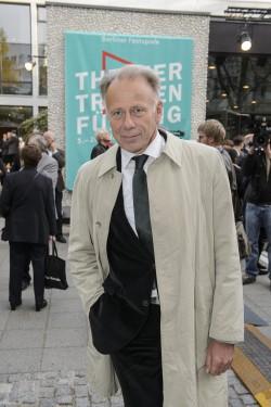 Auf der sicheren Seite: Jürgen Trittin trägt schwarz. Foto: Piero Chiussi