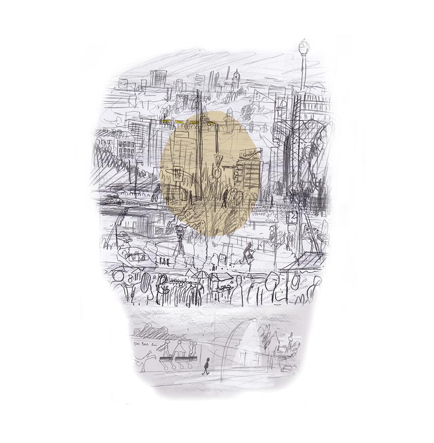 Zeichnung: Hamed Eshrat
