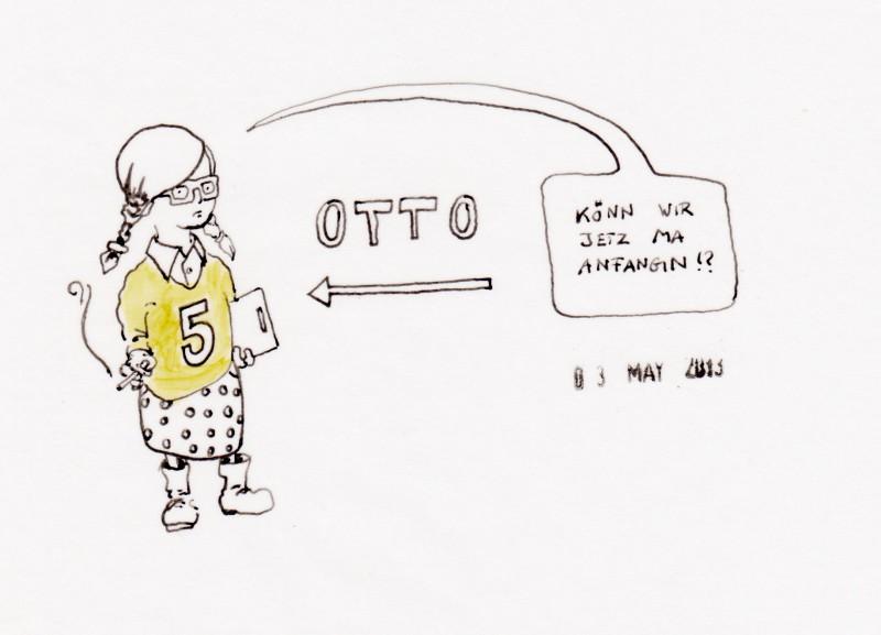 Otto das motzende Maskottchen