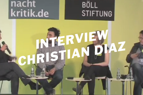 Kunst oder Aktivismus? Interview mit Ex-Billeteur Christian Diaz