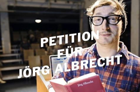 """""""Bitte lassen Sie Jörg Albrecht umgehend ausreisen!"""""""