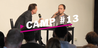 "Camp#13 – ""Theatre is just as necessary as hospitals!"" – Gespräch mit Chris Thorpe & Simon Stephens"