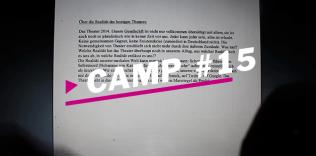 Camp#15 – Über die Tendenzen des Theatertreffen aus Sicht der Stipendiaten