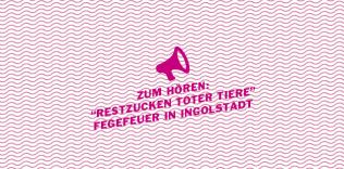 """Zum hören: Das klägliche Restzucken toter Tiere – Susanne Kennedys """"Fegefeuer in Ingolstadt"""""""