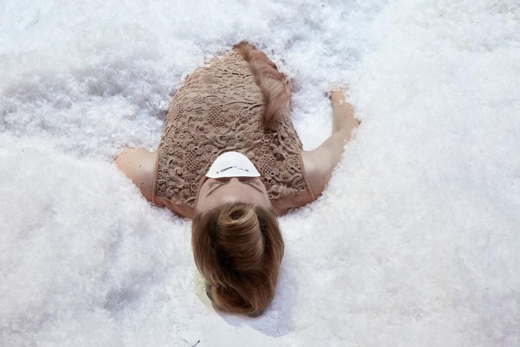Die Schauspielerin Nicola Kirsch als Fanny Wilton. Foto (c) Judith Buss