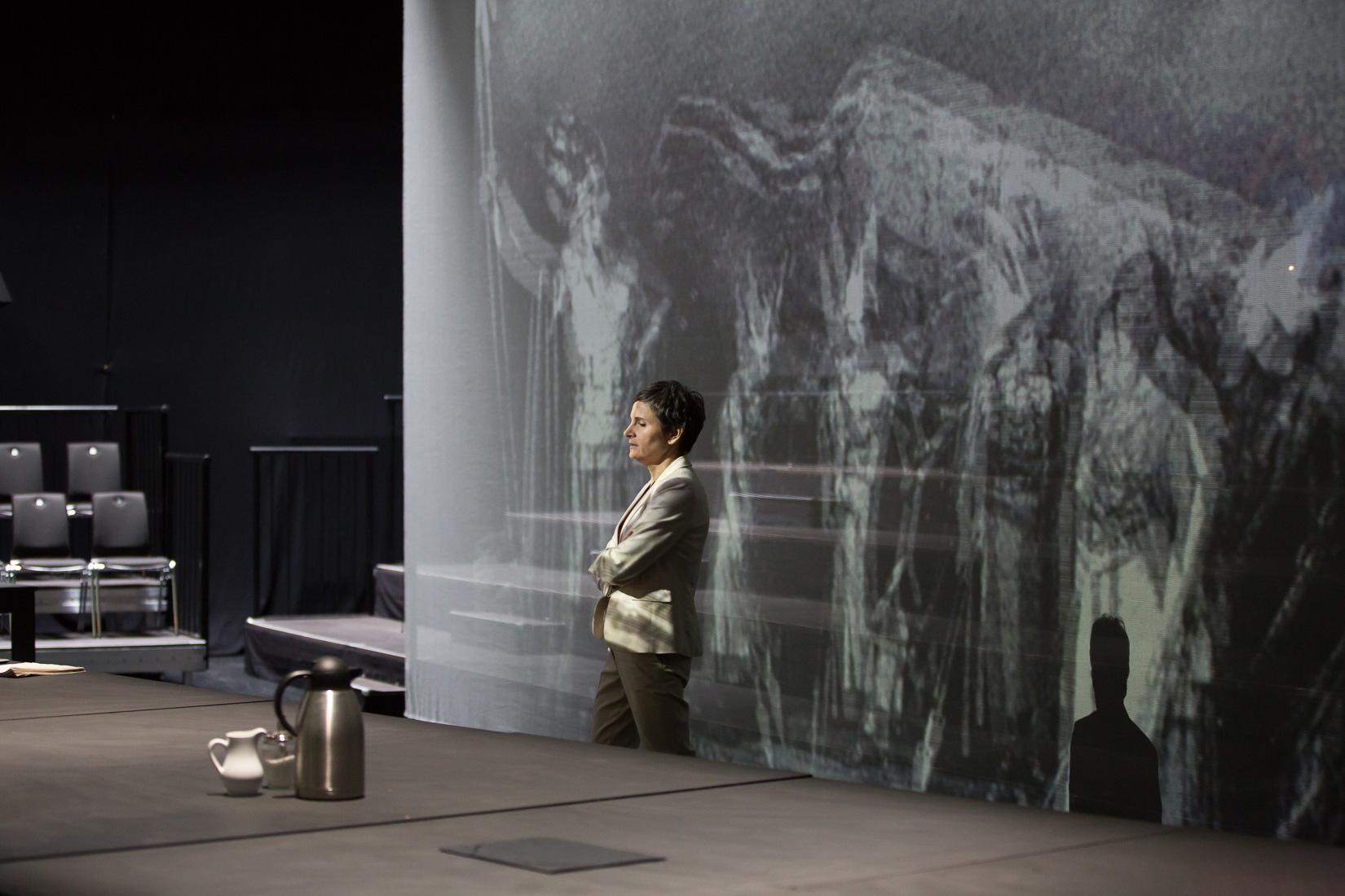 """Probe zu """"Stolpersteine Staatstheater"""". Foto (c) Judith Buss"""
