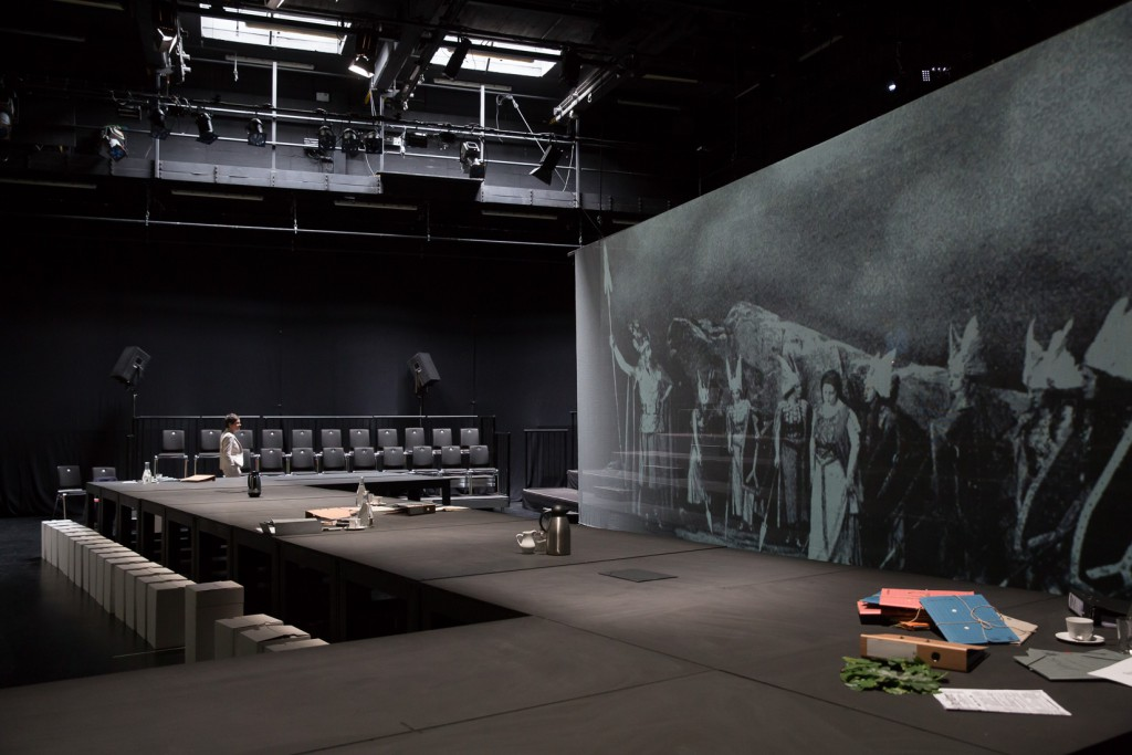 """Stolpersteine Staatstheater"". Foto (c) Judith Buss"