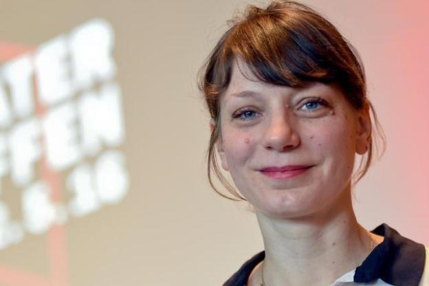 Yvonne Büdenhölzer, Leiterin des Theatertreffens. Foto (c) Britta Pedersen